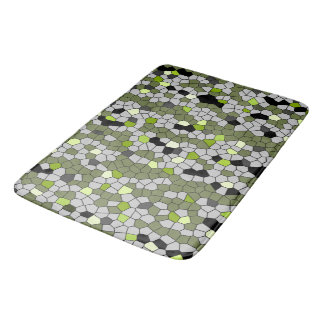 Green Gems Bath Mat