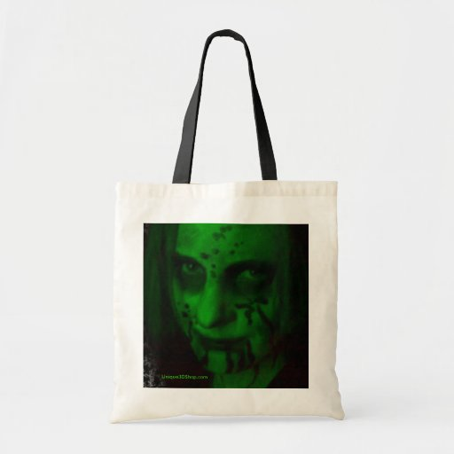 Green Ghoul Canvas Bag