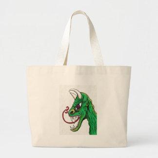 Green Ghoul Jumbo Tote Bag