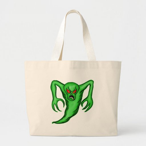 Green Ghoul Monster Bags
