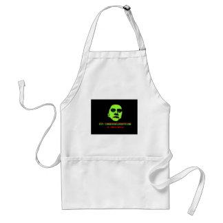 Green Ghoul -ZOMBIEWARES Blogspot Com Apron