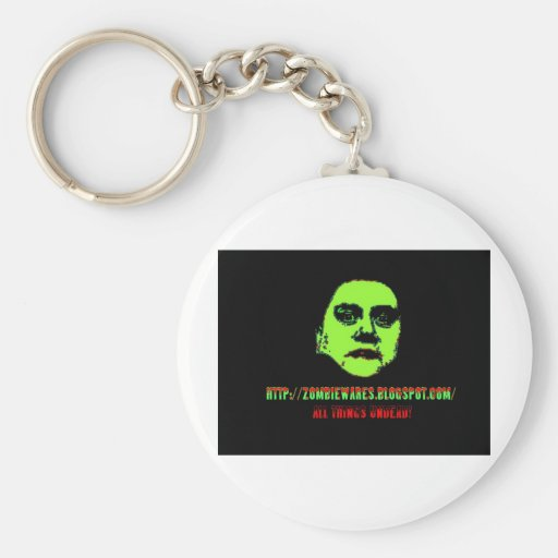 Green Ghoul -ZOMBIEWARES.Blogspot.Com Key Chain