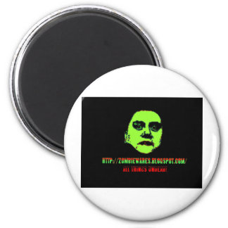 Green Ghoul -ZOMBIEWARES Blogspot Com Magnets