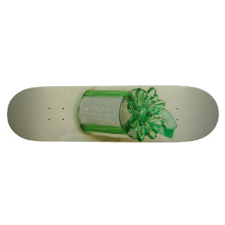 Green gift Christmas tree decoration Skate Board Deck