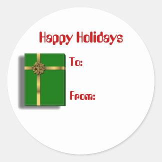 Green Gift sticker