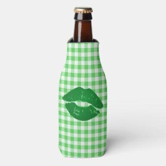 Green Gingham Fun Irish Kiss St Patrick's Day