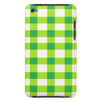 Green Gingham iPod Touch Case