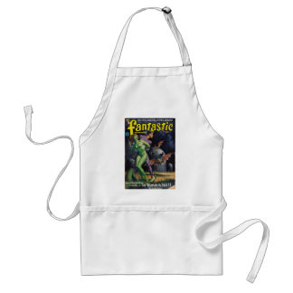 Green Girl vs Duck Bats Standard Apron