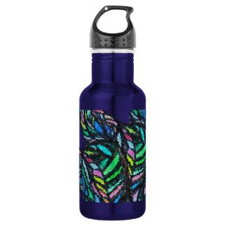 Green Glass Flow 532 Ml Water Bottle