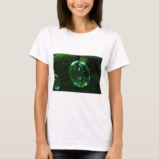 Green Glass Raindrop T-Shirt