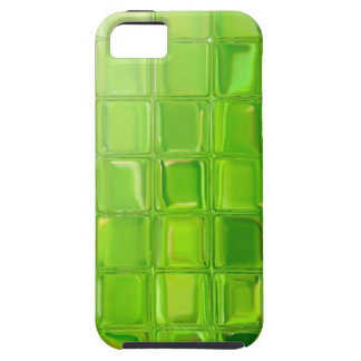 Green glass tiles case for the iPhone 5