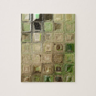 Green glass tiles jigsaw puzzle