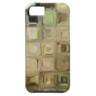 Green glass tiles tough iPhone 5 case