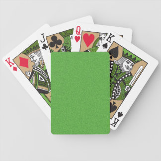 Green Glimmer Bicycle Playing Cards