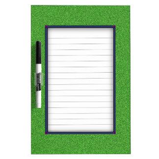 Green Glimmer Dry Erase Board