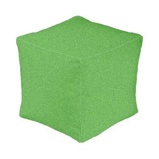 Green Glimmer Pouf