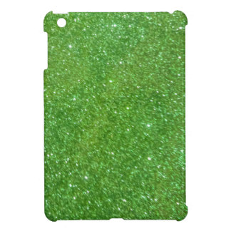 Green Glitter Abstract Texture Cover For The iPad Mini