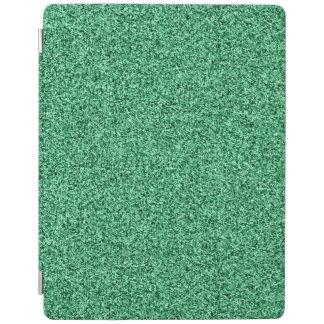 Green glitter iPad cover