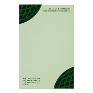 Green Global Business Stationery