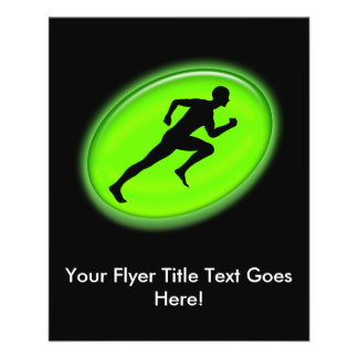 Green Glow Fitness and Personal Training Logo 11.5 Cm X 14 Cm Flyer