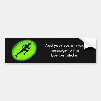 Green Glow Fitness Logo Bumper Sticker