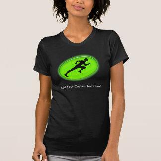 Green Glow Fitness Logo T-Shirt