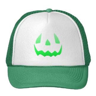 Green Glow Happy Halloween Cap