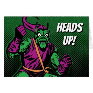 Green Goblin Retro Card