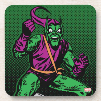 Green Goblin Retro Coasters
