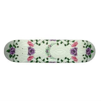 Green Goddess Upright Crescent Custom Skateboard