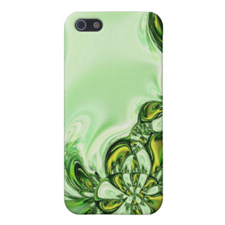 Green Gold Abstract Speck Case iPhone 5 Covers
