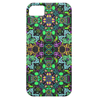 Green gold and purple psychedelic iPhone 5 case