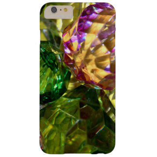 Green Gold and Violet Cut Glass iPhone Case Barely There iPhone 6 Plus Case