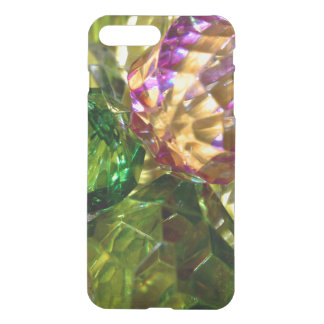 Green Gold and Violet Cut Glass iPhone Case