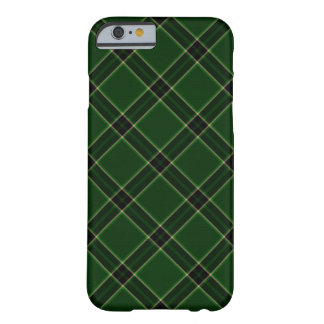 Green, Gold, Black Plaid Tartan iPhone 6 Case Barely There iPhone 6 Case