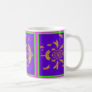 Green & Gold Dragonfly Gifts by Sharles Coffee Mug