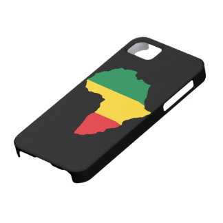 Green, Gold & Red Africa Flag iPhone 5 Covers