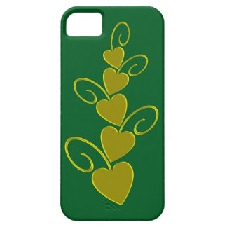 Green Gold style Barely There iPhone 5 Case