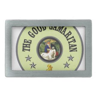 green good samaritan belt buckle
