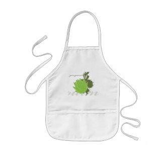 Green Gourmet Artichoke Kids Apron