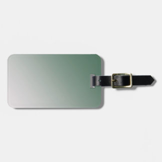 Green Gradient Luggage Tag