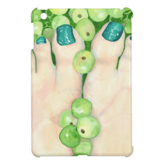 Green Grapes and Pedicure Cover For The iPad Mini