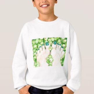 Green Grapes and Pedicure Sweatshirt