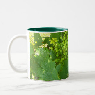 Green Grapes Coffee Cup