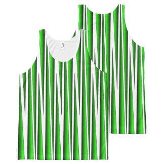 GREEN GRASS BLADES TANK TOP