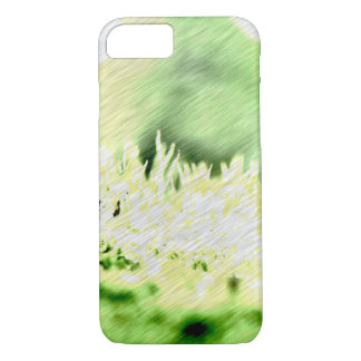 Green Grass Colour Hatch iPhone 8/7 Case