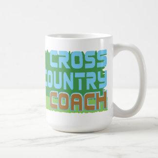 Green Grass CROSS COUNTRY COACH Coffee Mugs