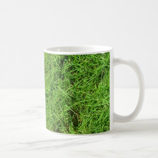 Green Grass Pattern Mug