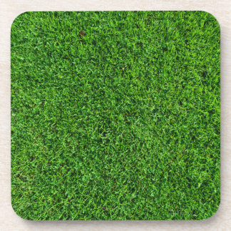 Green Grass Texture Coaster