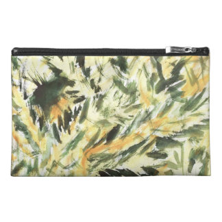 Green Grass Travel Accessory Bag